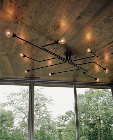 Spider Chandelier (FREE SHIPPING*) - Unique Wood & Iron
