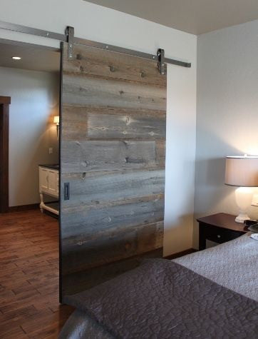 Wood Barn Door (Style#1) - Unique Wood & Iron