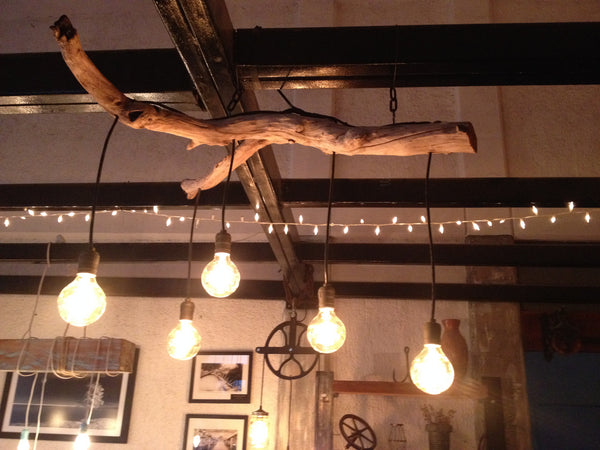 Branch Chandelier - Unique Wood & Iron