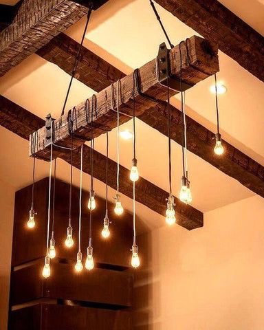 Beam Chandeliers for Maura Milano