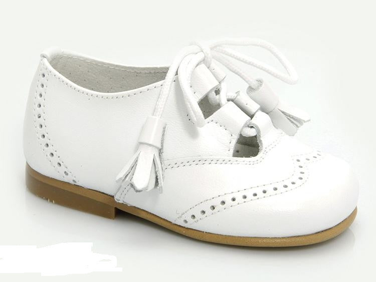 11064. Classic Plain Leather Brogue