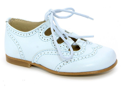 11067. Classic Plain Leather Brogue