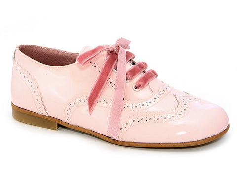 11068. Classic Patent Leather Brogue