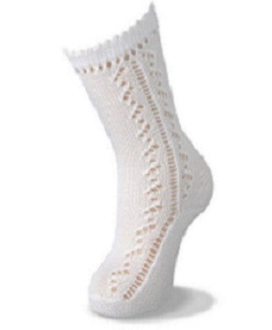 Knee High Open Work Sock