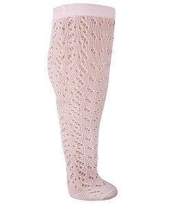 Carlomagno Openwork Lace Detail Tights