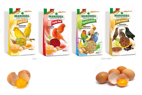 Manitoba Egg/Insect food Series 400g (Italy)