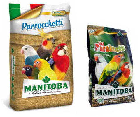 Manitoba Big Parakeet High Energy Mix 2kg (Italy)