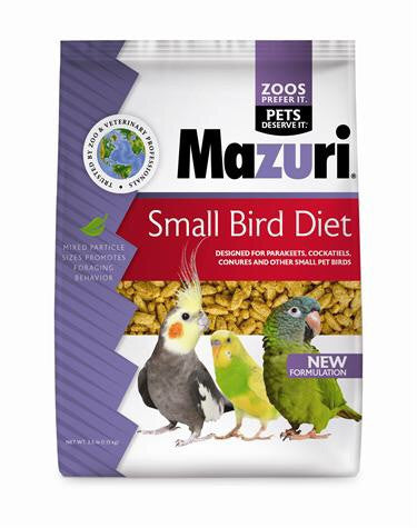 Mazuri Small bird diet 2.5lb (USA)
