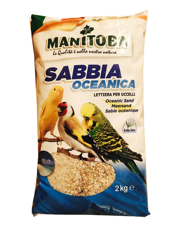 Manitoba SABBIA Oceanica sand 2kg (Italy)