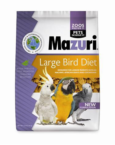 Mazuri Large bird diet 3lb (USA)