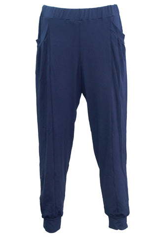navy relaxed pant