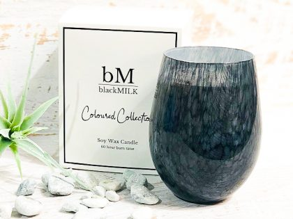 Bamboo + Fig Black Speckle Candle