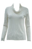 white long sleeve skivvy