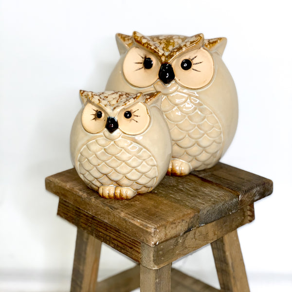 Lavida - Natural Owl Set