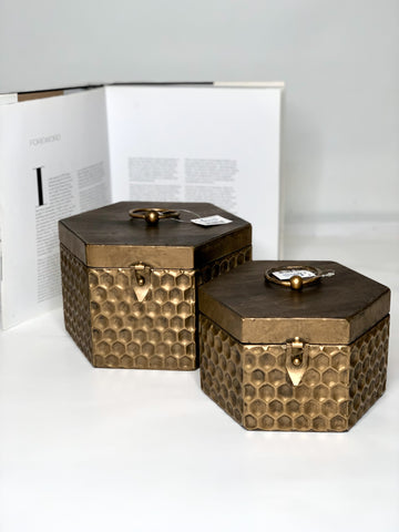 Lavida - Metal Honeycomb Boxes