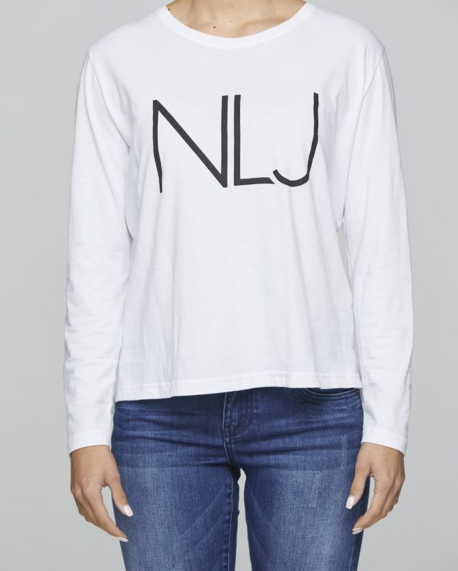 long sleeve logo tshirt