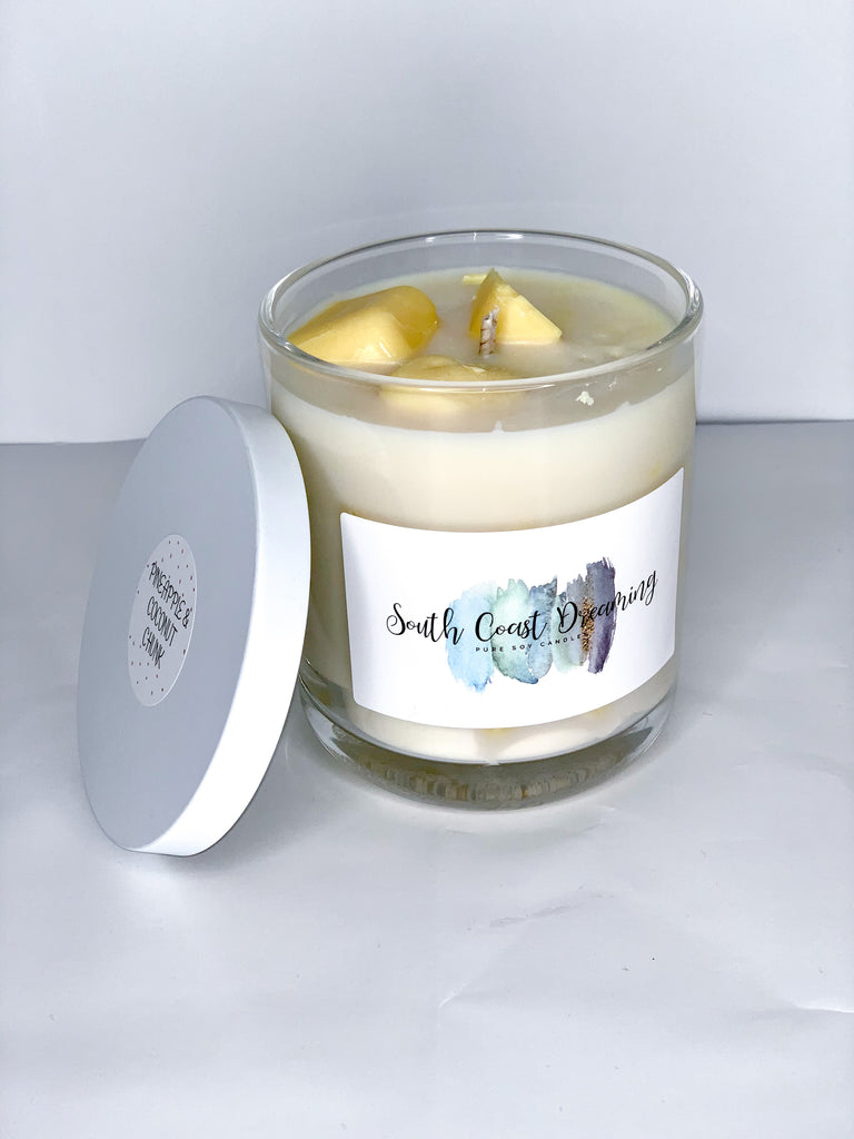 Pineapple Coconut Chunk Candle