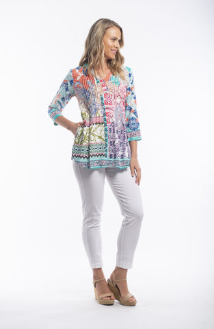 madeira blouse from Orientique