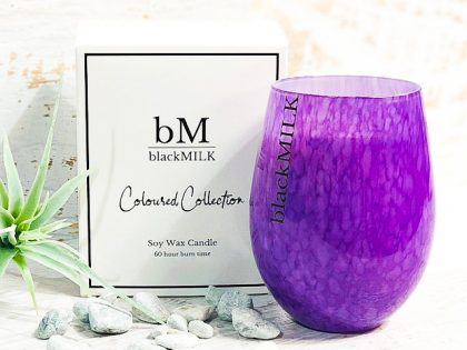 Guava + Lychee Purple Speckle Candle