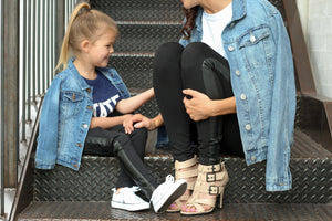 Leather Ponte Pant - Toddlers