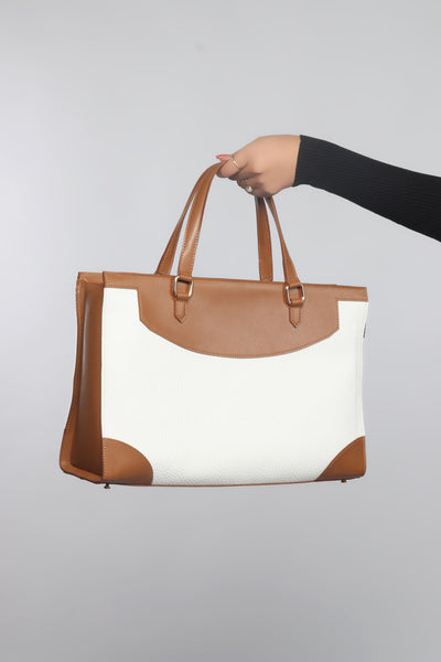 Two tone Work bag