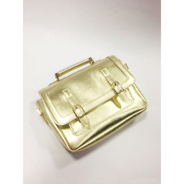 Metallic Satchel