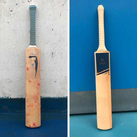 Salix Cricket Bat Refurb PRYZM Luxe Stickers