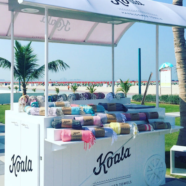 Kite beach relaunch beach towels dubai