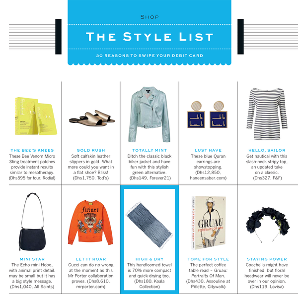 Stylist Magazine and Koala Collection