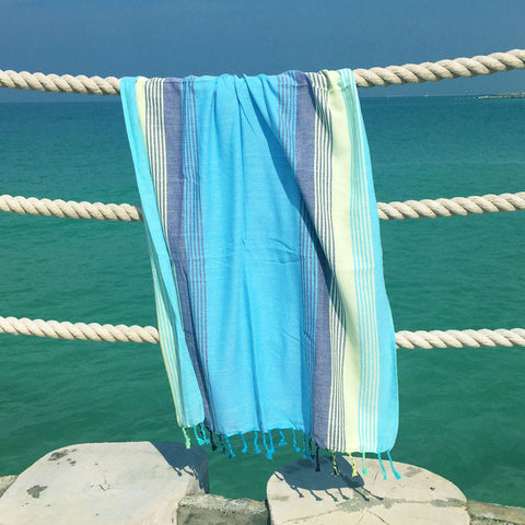 Sherbet Shores / Lagoon - Koala Handloomed Beach Towels Dubai
