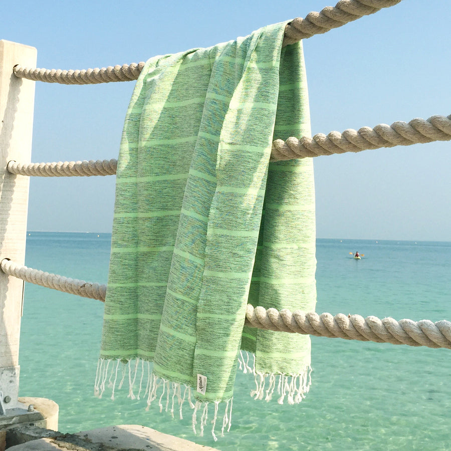 Pistachio Pebble - Koala Handloomed Beach Towels Dubai