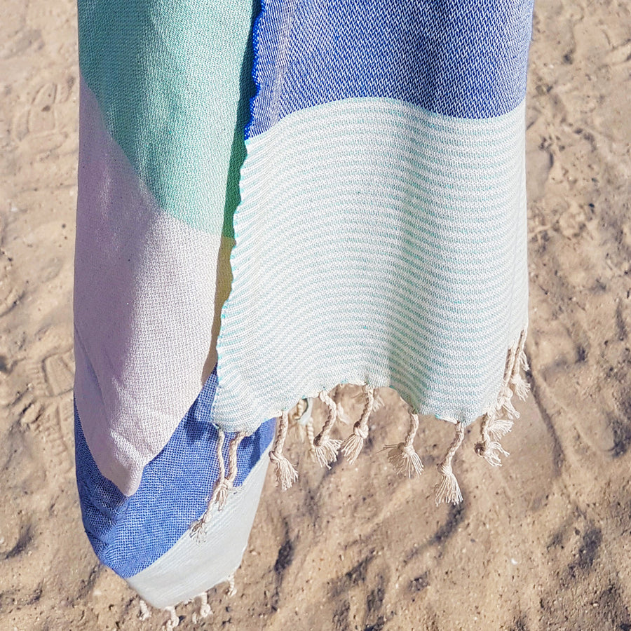 Hurley / Blue - Koala Handloomed Beach Towels Dubai