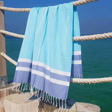 Blue Moon - Koala Handloomed Beach Towels Dubai