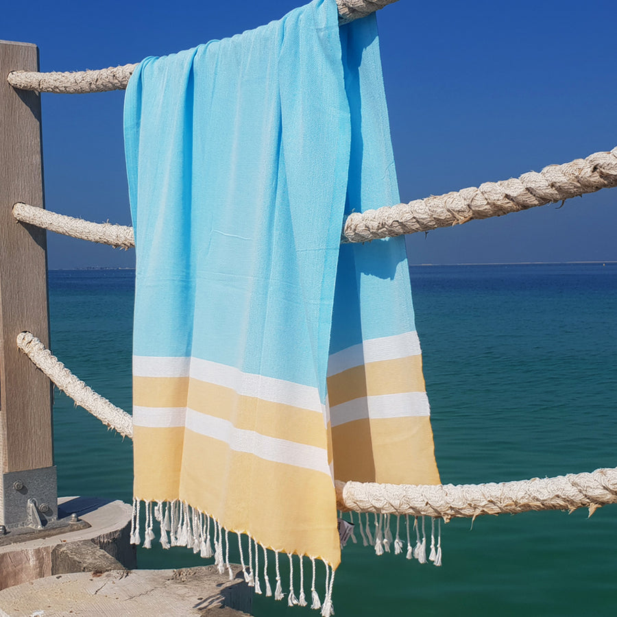 Banana Split - Koala Handloomed Beach Towels Dubai