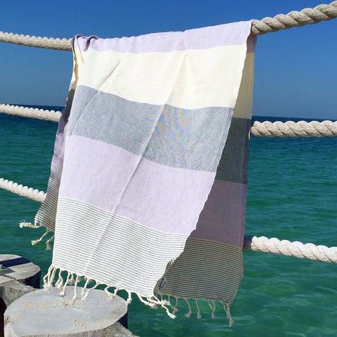 Hurley / Purple - Koala Handloomed Beach Towels Dubai
