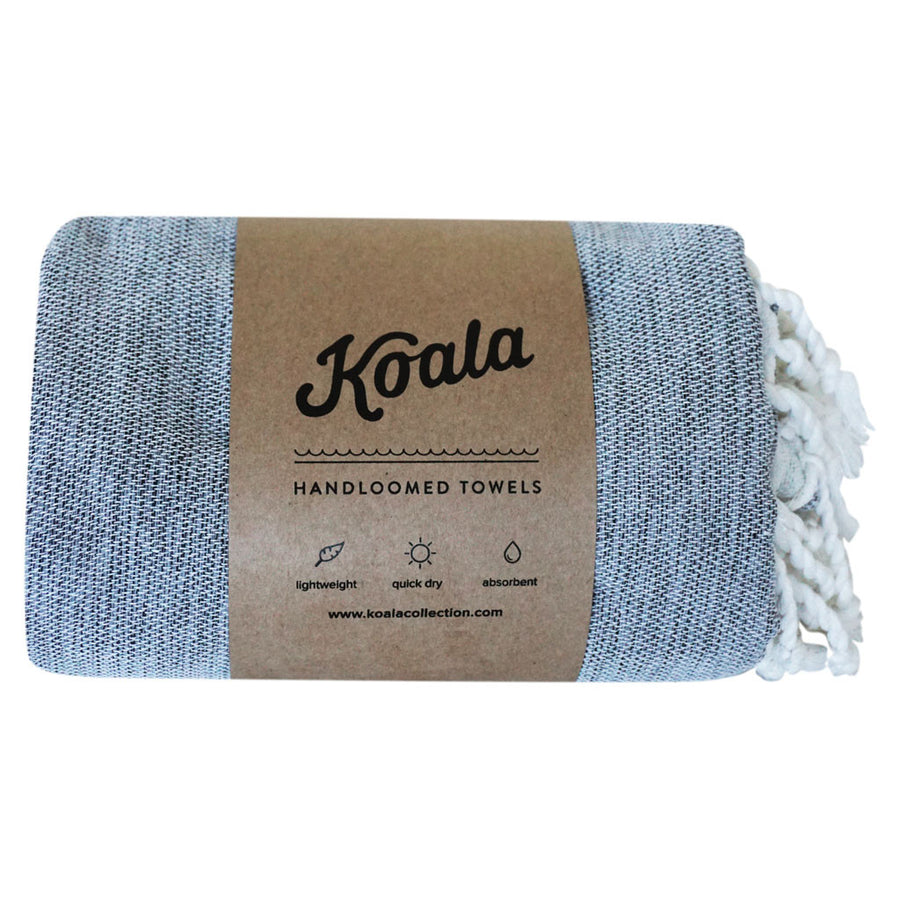 Double / Grey - Koala Handloomed Beach Towels Dubai