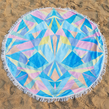 Pastel Prism - Koala Handloomed Beach Towels Dubai