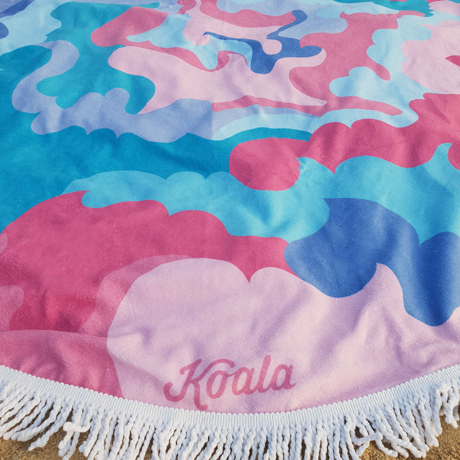 Candy Clouds - Koala Handloomed Beach Towels Dubai