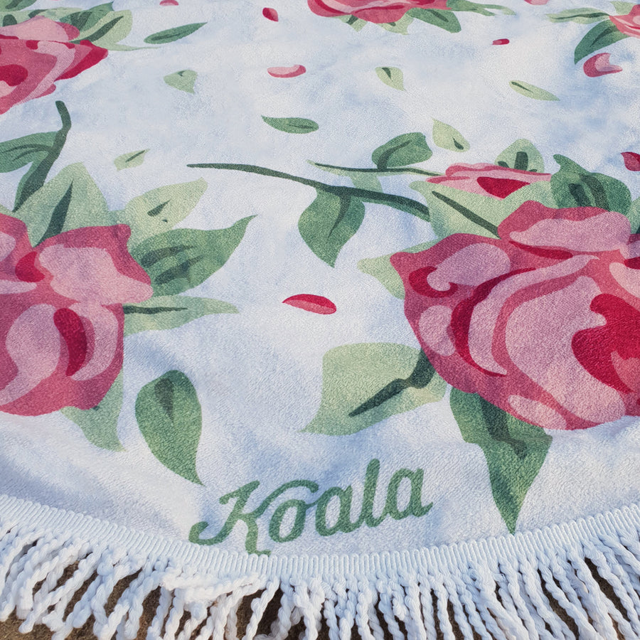 Velvet Rose - Koala Handloomed Beach Towels Dubai
