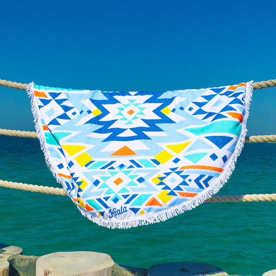 Aztec Island - Koala Handloomed Beach Towels Dubai