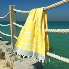 yellow trend 2017 koala beach towel
