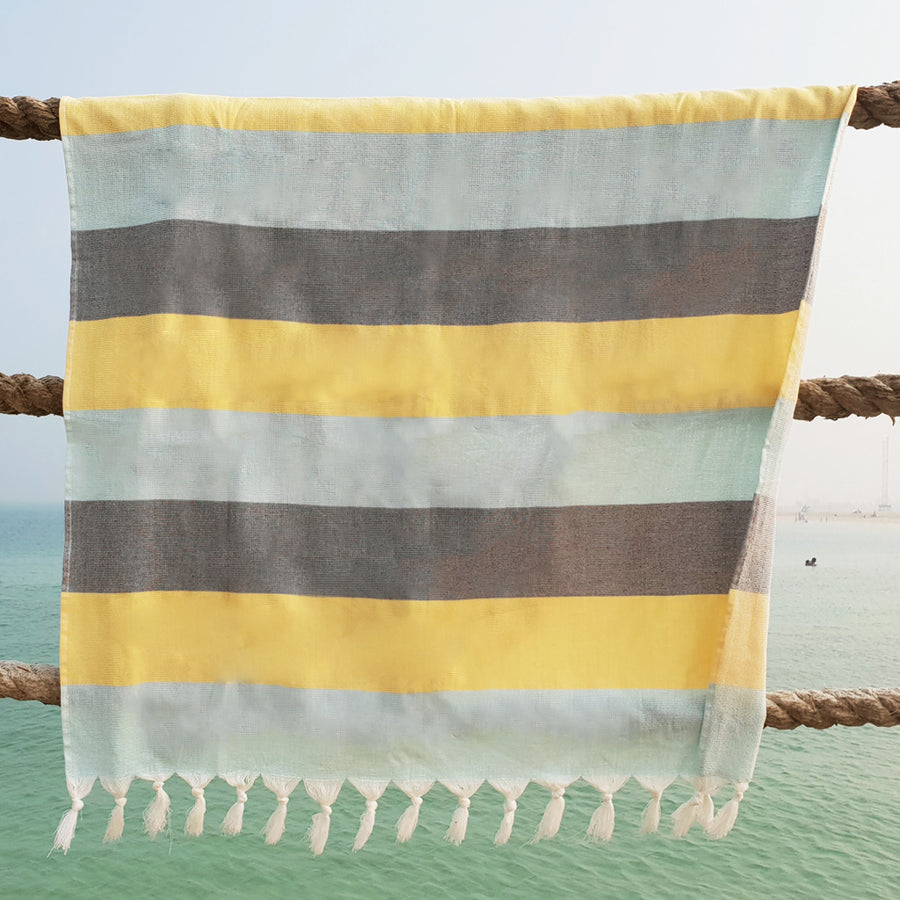 Terry / Mint Choc Chip - Koala Handloomed Beach Towels Dubai