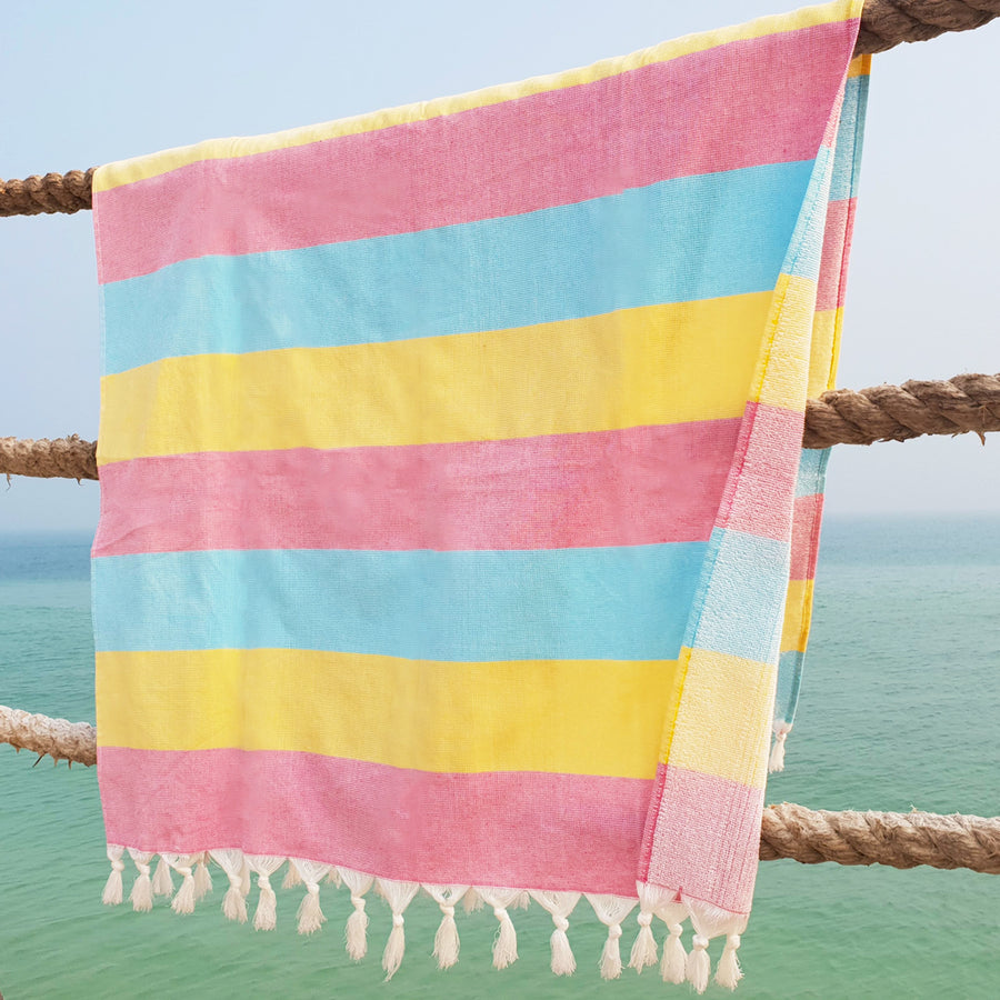 Terry / Sorbet - Koala Handloomed Beach Towels Dubai