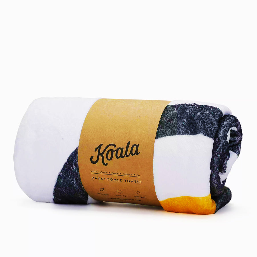 UTOPIA / Orange - Koala Handloomed Beach Towels Dubai
