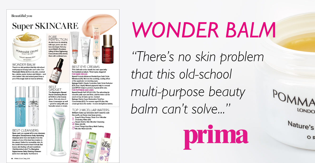 Wonder Balm - There's no skin problem that this old-school multi-purpose beauty balm can't solve.