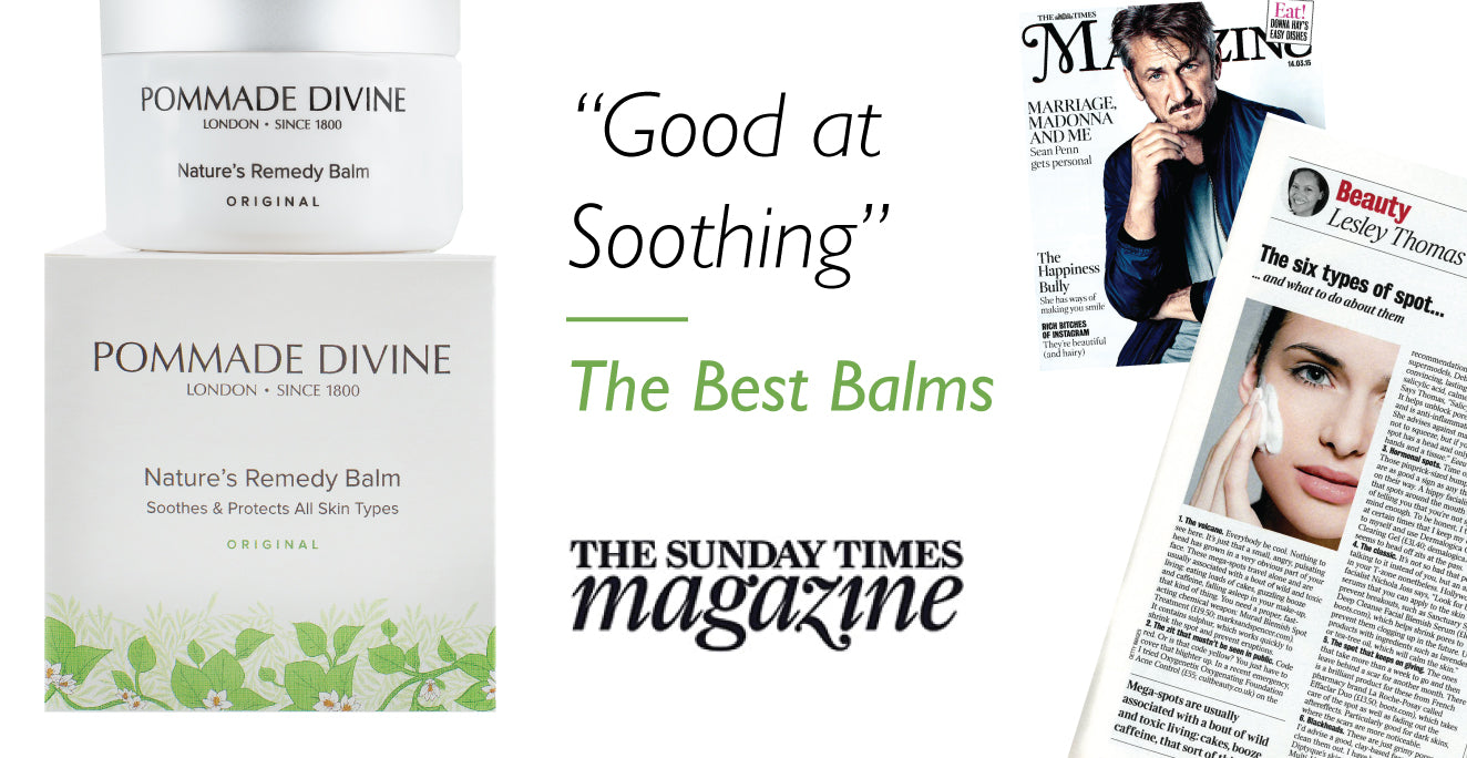 Good at Soothing - The Best Balms