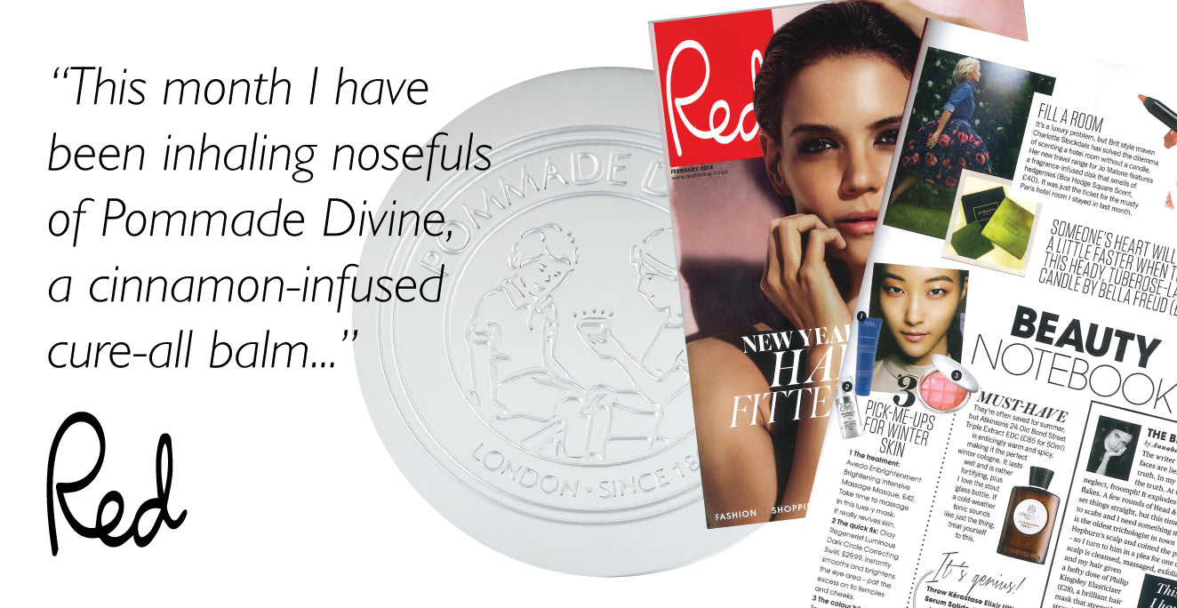 This month I have been inhaling nosefuls of Pommade Divine, a cinnamon-infused cure all balm