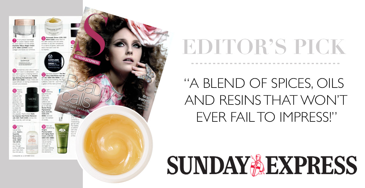 Pommade Divine in Sunday Express