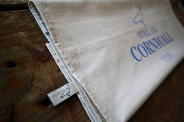Still on Cornwall time tea towel