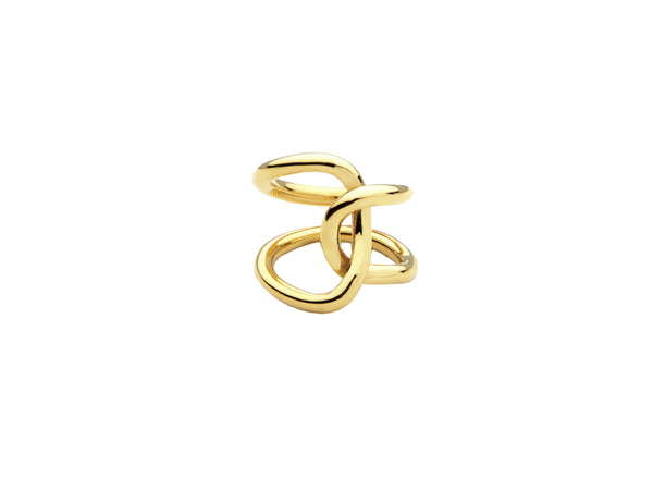 Mexi Chain Ring- Gold